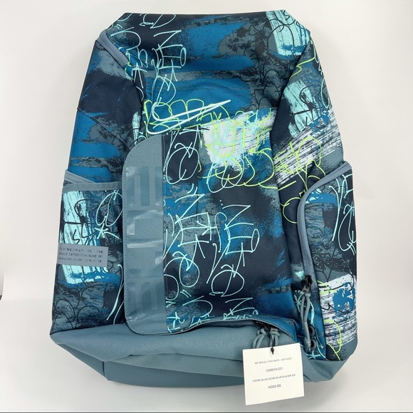 Nike 2021 Elite Pro Basketball Backpack Blue
